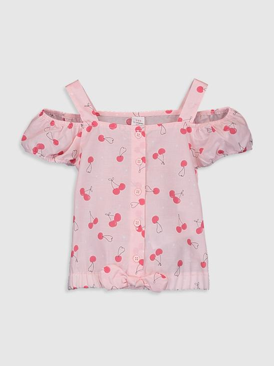 PINK - Baby Girl's Cotton Blouse - 0SU524Z1