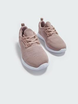 PINK - Women's Active Lace-up Trainers - S1BI11Z8