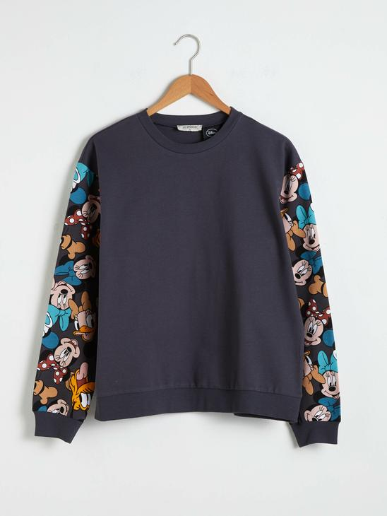 ANTHRACITE - Mickey Mouse Printed Sweatshirt Mother and Daughter Matching - 0WHK50Z8