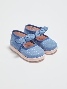 INDIGO - Baby Girl's Bow Knot Detailed Flats