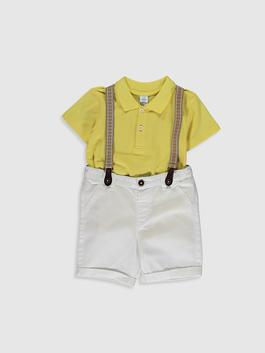 YELLOW - Baby Boy's 3-pack Set