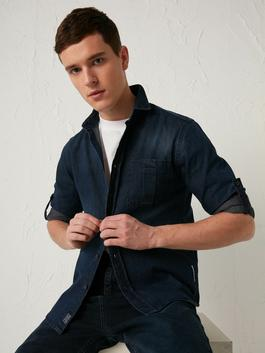 INDIGO - Slim Fit Jean Jacket