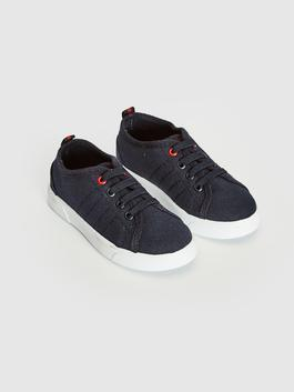 NAVY - Boy Lace-up Sneaker
