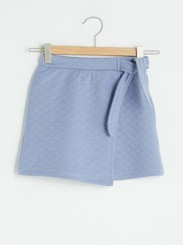 LILAC - Elastic Waist Quilted Girl Skirt