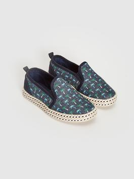 NAVY - Boy's Figured Espadrille Shoes