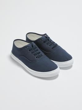 NAVY - Lace-Up Men's Casual Shoes - S18342Z8
