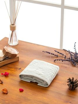 GREY - Embroidered Hand Towel