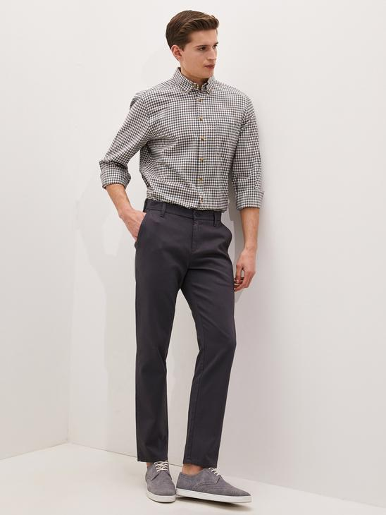 ANTHRACITE - Trousers - 0WHK93Z8