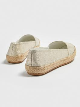 YELLOW - Bright Flat Shoes - S1GK33Z8