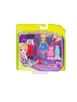 MIX - Polly Pocket and Animal Friendly Wearing Costume Playset GDM15 - S1AO46Z4