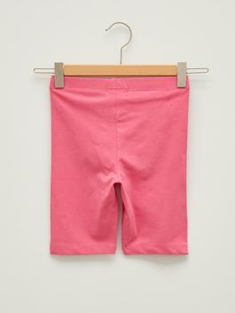 PINK - Basic Cotton Short Tights For Girls - S1CU92Z4