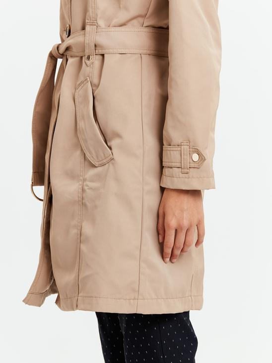 BROWN - Trench coat - 8W0355Z8